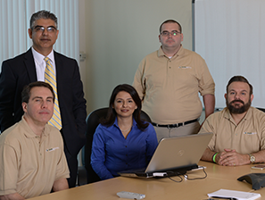 Avaria Networks managed IT services team